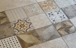Keramikplatten mit Dekor | © H+M Wohnkeramik