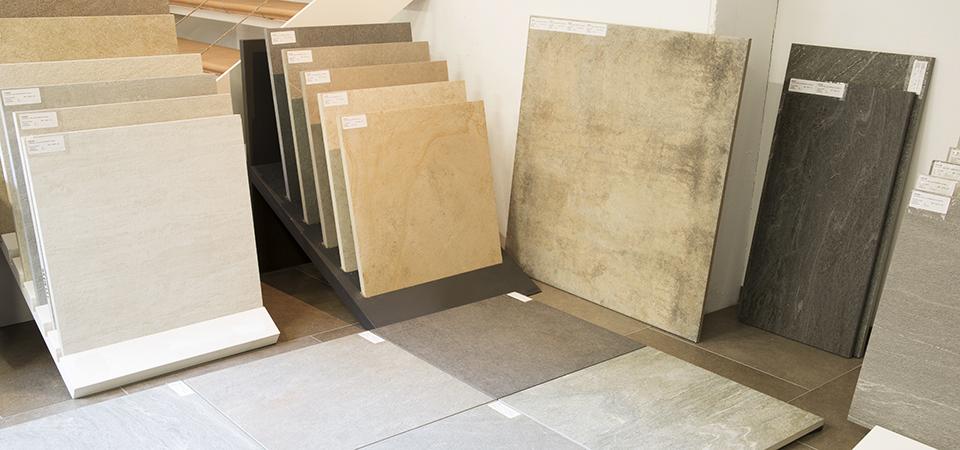 Grossformat Keramikplatten für Innen und Aussen | © H+M Wohnkeramik