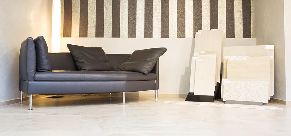 Gestaltungsideen für den Innenbereich mit Keramikfliesen | © H+M Wohnkeramik