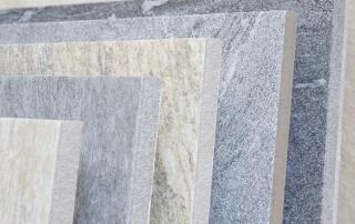 Terrassenplatten in Natursteinoptik | © H+M Wohnkeramik